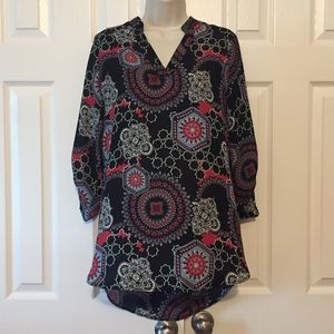Riley & James Tunic Style Top